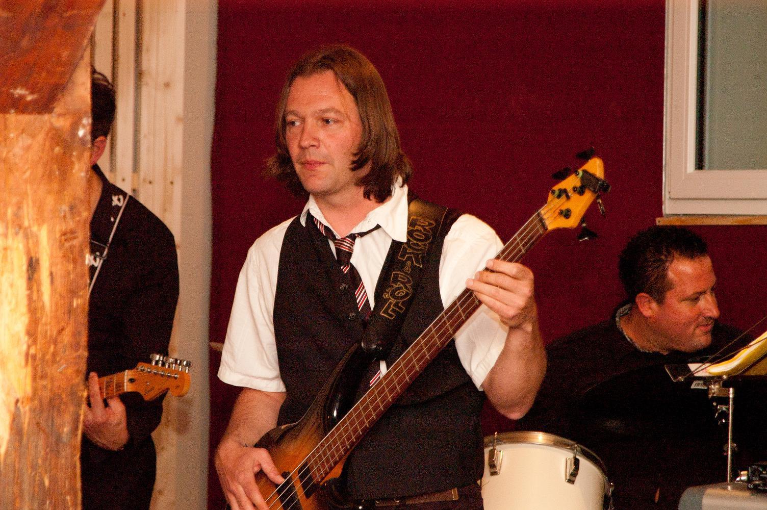 Bassist Raimund Steinbacher